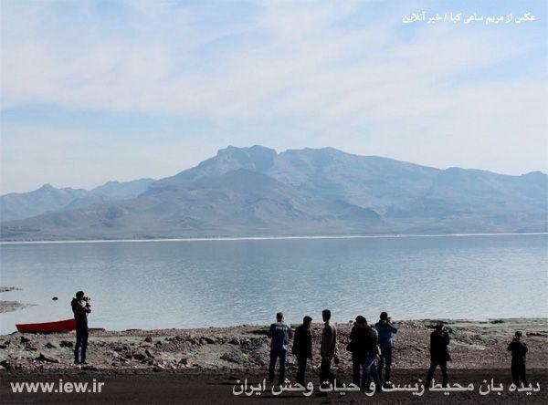 941221 daryache 4 به گفته عکسی از آخرین اوضاع دریاچه ارومیه در اسفندماه  ۱۳۹۴