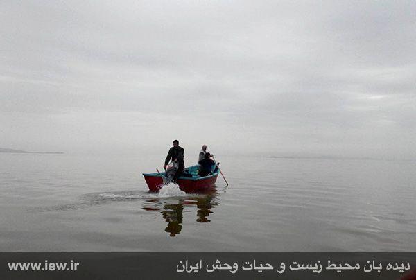 950123 daryache 10 دسترسی به جزایر دریاچه ارومیه بوسیله قایق میسر شد + تازه ترین و جدیدترین تصاویر دریاچه
