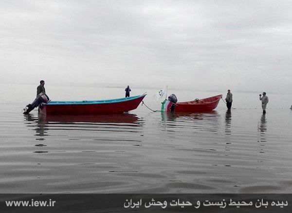 950123 daryache 7 دسترسی به جزایر دریاچه ارومیه بوسیله قایق میسر شد + تازه ترین و جدیدترین تصاویر دریاچه