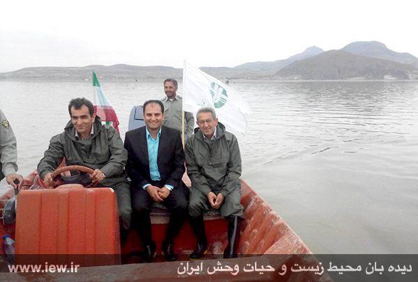 950123 daryache 9 دسترسی به جزایر دریاچه ارومیه بوسیله قایق میسر شد + تازه ترین و جدیدترین تصاویر دریاچه
